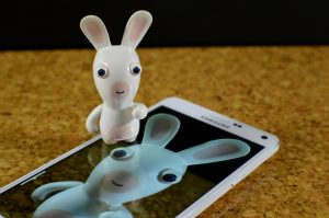 Smartphone Hare Samsung Funny White